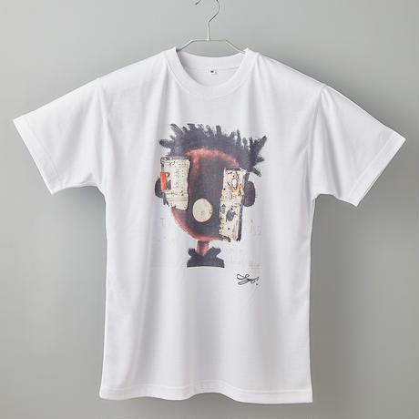 【長坂真護】Tシャツ「This is my love」(リサイクルポリエステル)