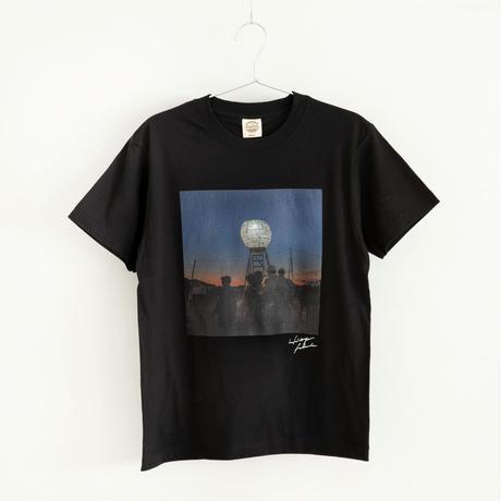 【Photo by 福田秀世】Tシャツ「Moon tower Agbogbloshie 1」(オーガニックコットン)