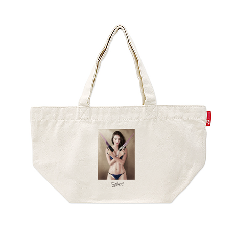 MAGO×ROOTOTE トートバッグ-S 2 【It will Be World Peace, If the Guns Have Covered By Condoms.】