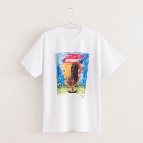 【長坂真護】Tシャツ「I know any knowledge」(リサイクルポリエステル)