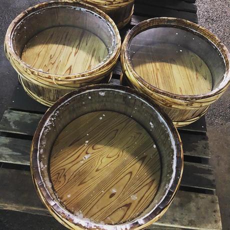 【宮崎お土産】【杉製木桶に一本一本手仕込み】2020.2.1仕込みの木桶沢庵130g  5袋セット