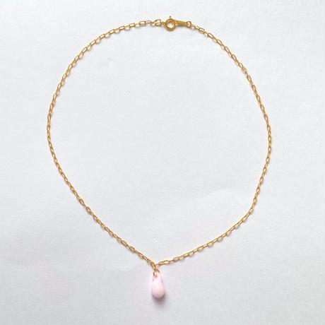 Emma gold choker pink
