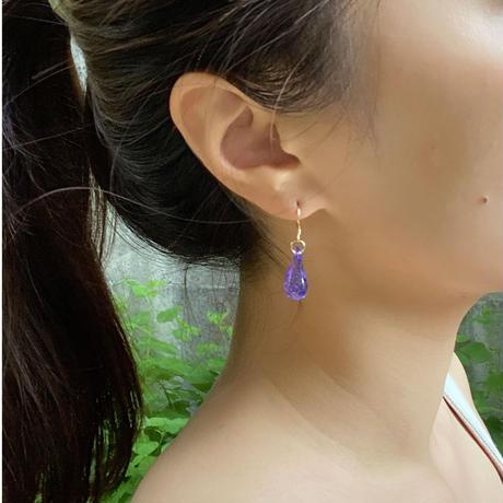 Lala pierced purple