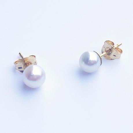 pearl drop pierced