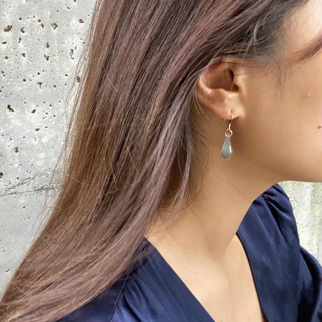 Lala pierced mint blue