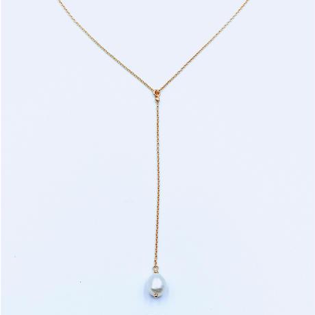 Amu necklace pearl