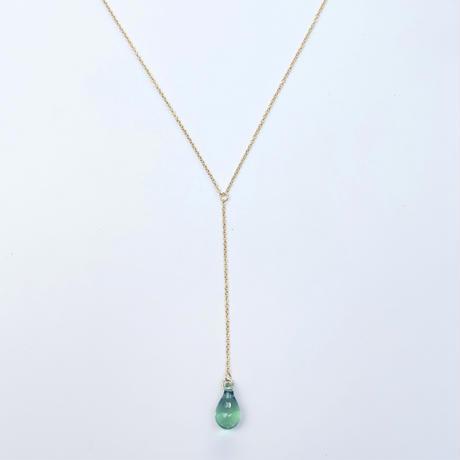 Amu necklace blue green