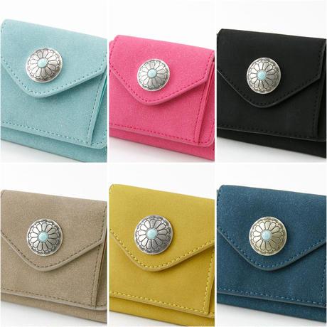 コンチョミニ財布