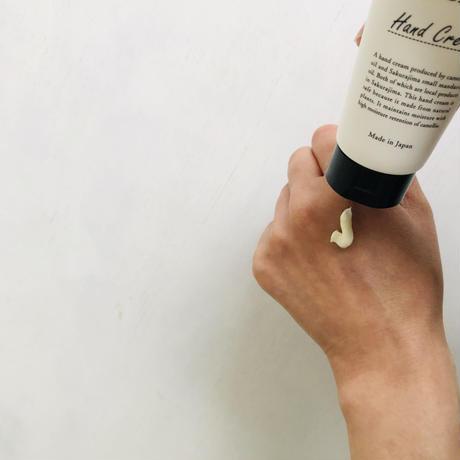 桜島つばきハンドクリームとつばき油のセット