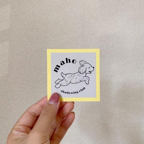 【再販!!】msc dog logo sticker
