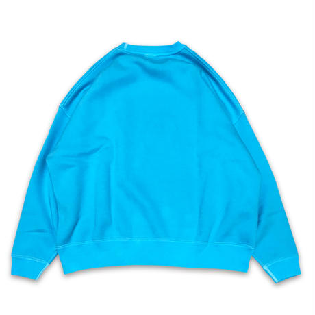 """""""SOFT DYED OVERCLUE"""" SWEAT (MIAMI BLUE)"""