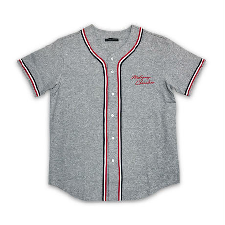 """THROW BACK"" BASEBALL SHIRT (CLASSIC RED)"