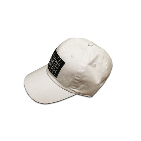 """LOVE & PEACE"" 6PANEL CAP (WHITE)"