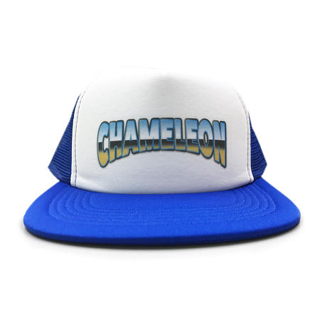 """OLD SCHOOL"" MESH CAP (BLUE)"