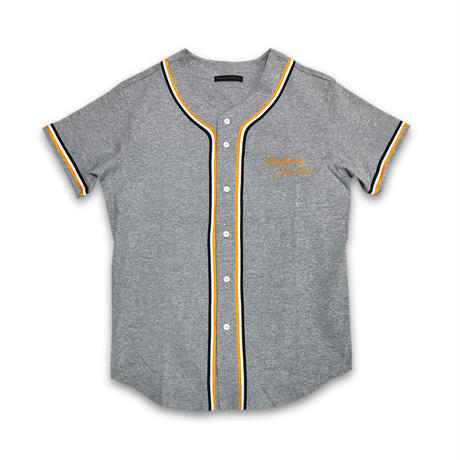 """THROW BACK"" BASEBALL SHIRT (CLASSIC ORANGE)"