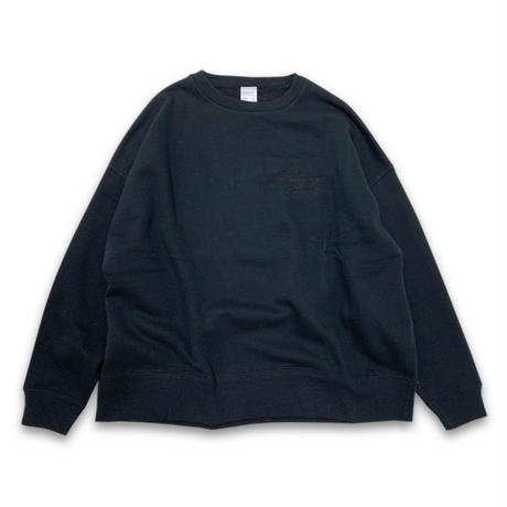 """SOFT DYED OVERCLUE"" SWEAT (BLACK)"