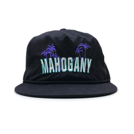 5PANEL NYLON BEACH CAP (MIDNIGHT BLACK)