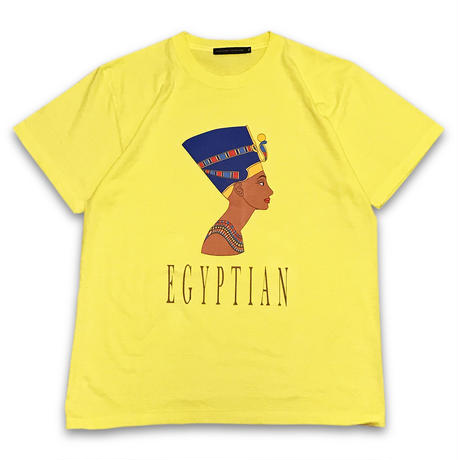 """Queen Nefertiti"" T-SHIRTS (YELLOW)"