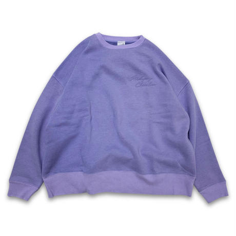 """SOFT DYED OVERCLUE"" SWEAT (LAVENDER)"