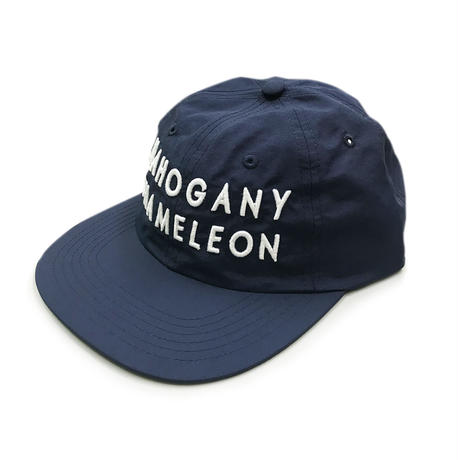 """MC CLASSIC LOGO"" 6PANEL NYLON CAP (NAVY / WHITE)"