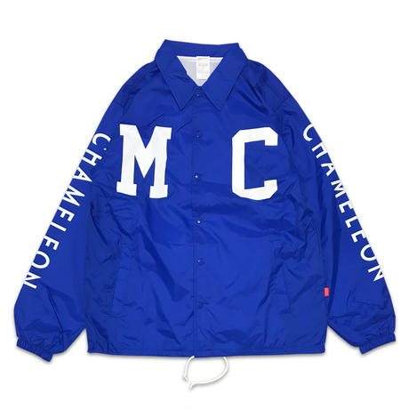 """BACK TO BASICS"" COACH JACKET (ROYAL BLUE)"