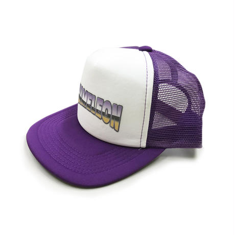 """OLD SCHOOL"" MESH CAP (PURPLE)"