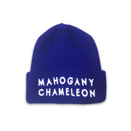 """""""MAHOGANY"""" BEANIE (BLUE)"""