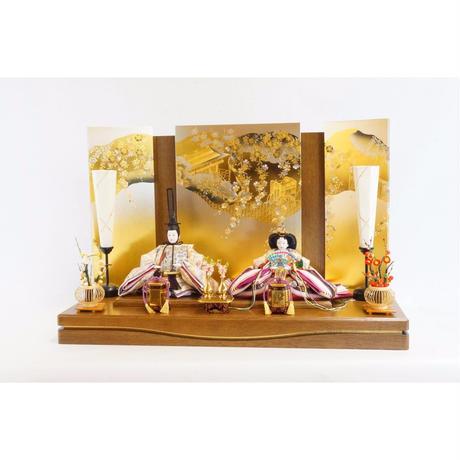 凛皇平飾り 西陣織帯  [Rio-80st-br-17ob1]