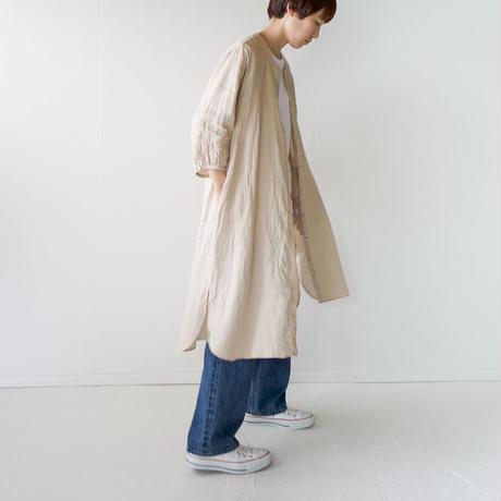 canvas washer french linen/one piece/beige