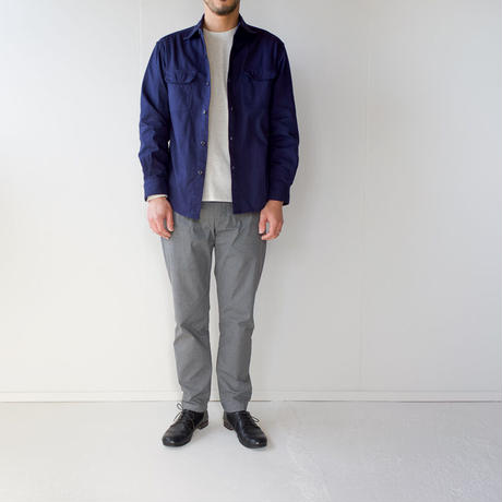 cotton ox work shirt/navy/size3