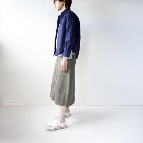 cotton ox work shirt/navy/size1