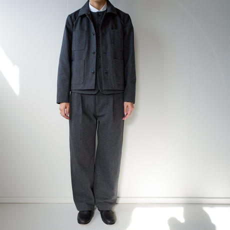 cotton wool/ coverall jacket