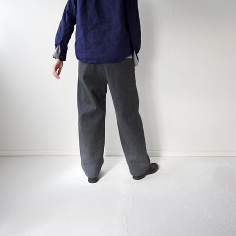 cotton wool/tuck  pants