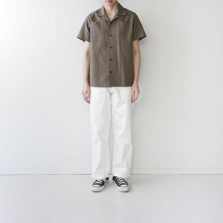 original cotton /open collar shirt/size1
