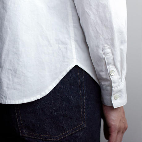 weather cloth shirt/white