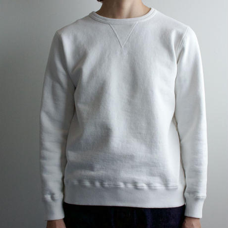 dry fleecy fabric/sweatshirt/size1/white