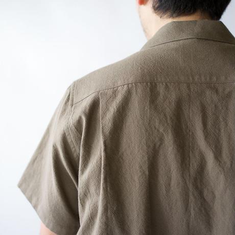 original cotton /open collar shirt/size2