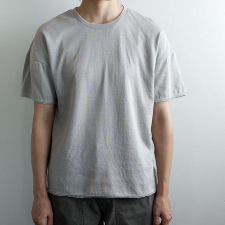 dual-layered fabric tshirt/light gray