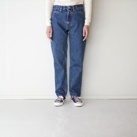 14oz.selvedgedenim jeans/vintage wash/straight