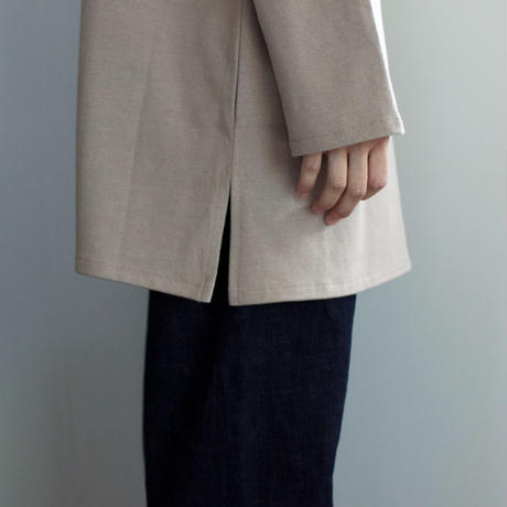 big basque long shirt/ash gray