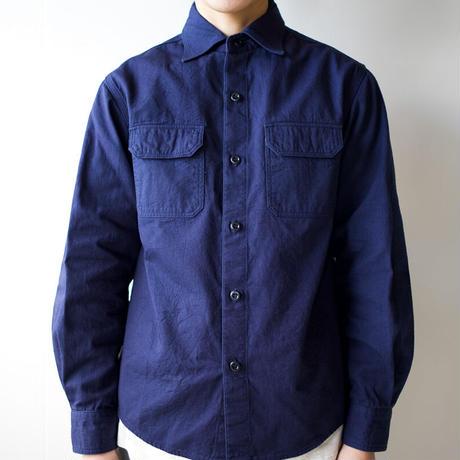cotton ox work shirt/navy/size2