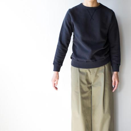 dry fleecy fabric/sweatshirt/size1/charcoal gray