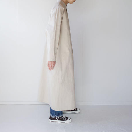 paper cotton one piece/beige