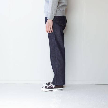 14oz.selvedgedenim jeans/non wash straight