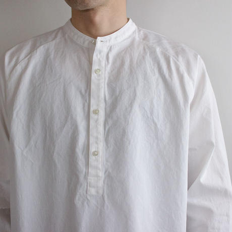 weather cloth /raglan shirt/white/size2(MAN)