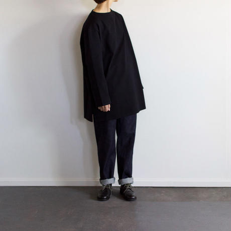 big basque long shirt/black