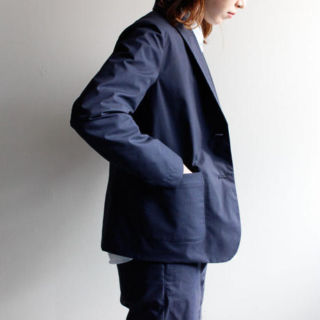 tailored jacket/navy