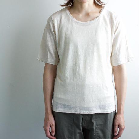 linen T cotton tank top set/KINARI