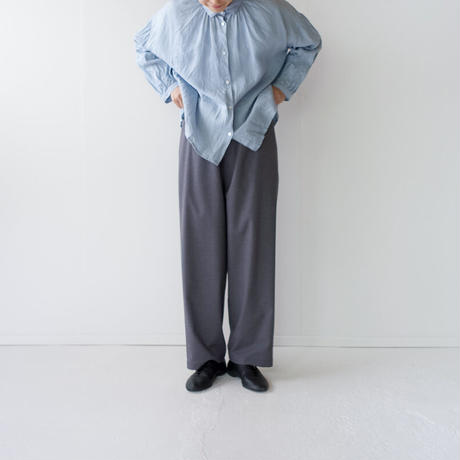 tr stretch/easy pants/charcoal gray
