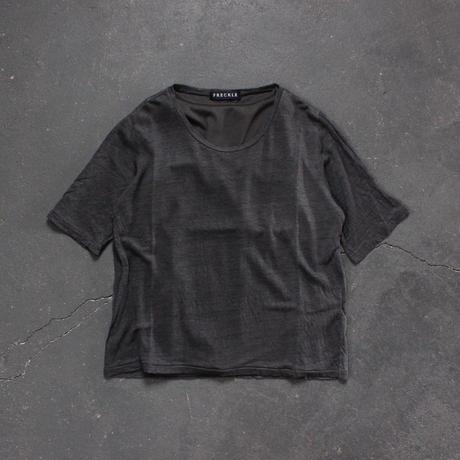 linen T cotton tank top set/CH